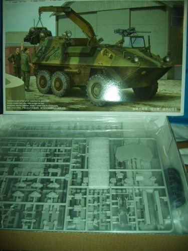 Trumpeter 01503 Canadian AVGP Husky (Early Version ) C