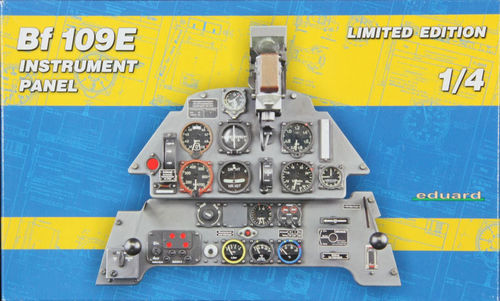 Eduard 14002  Bf 109E Instrument Panel Limited Edition 1:4 OVP Bausatz
