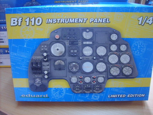 Eduard 14001 Bf 110 INSTRUMENT PANEL Limited Edition 1:4