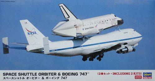 Hasegawa 10680 Space Shuttle Orbiter & Boeing 747™ Limited Edition 1:200 Bausatz