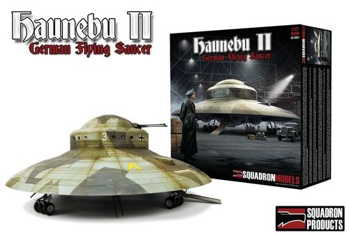 Squadron SQM0001 Haunebu II - German Flying Saucer 1:72 Neuheit