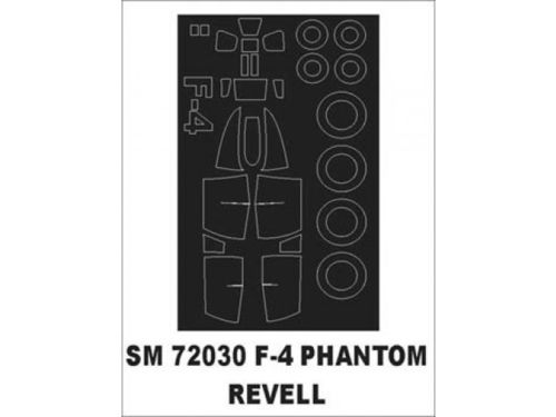Montex Mask SM 72030 F-4 Phantom