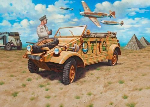 Revell 03253 German Staff Car Type 82 KUEBELWAGEN Bausatz OVP