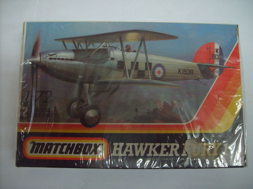 Matchbox PK-1 Hawker Fury 1 1:72 OVP