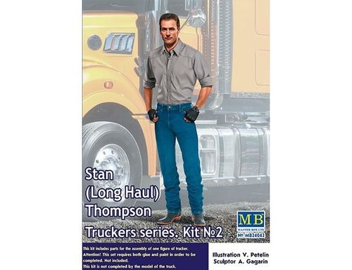 Master Box MB24042 Stan (Long Haul) Thompson Bausatz 1:24 OVP
