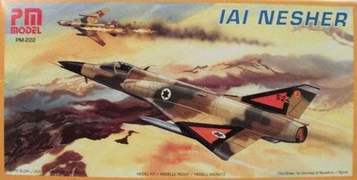 PM Model PM-222 IAI Nesher Bausatz 1:72
