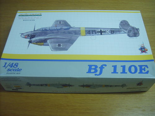 Eduard 8403 Messerschmitt Bf 110 E Weekend Edition 1:48 in OVP