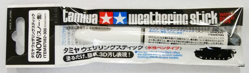 Tamiya 87082 Weathering Stick (Snow)