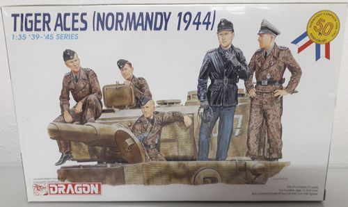 Dragon 6028 Tiger Aces (Normandy 1944) Modellbausatz 1:35 Neu in OVP