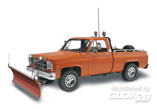 Revell 85-7222 GMC Pickup with Snow Plow Trucks Mausatz 1:24 NEU OVP