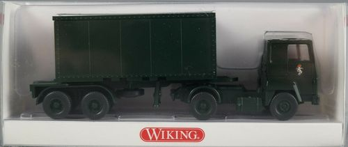 Wiking 0696 24 42 Ford Transcontinental  Containersattelzug Brigade Berlin 1:87 HO NEU in OVP