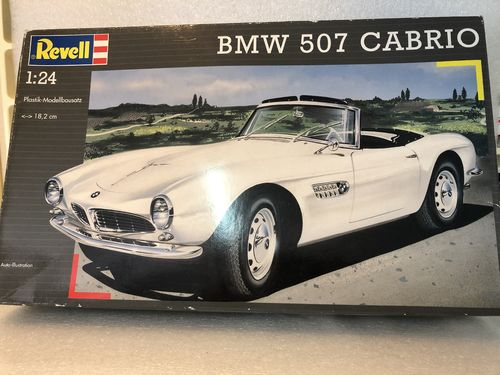 Revell 07200 BMW 507 Cabrio  Modellbausatz 1:24 in OVP