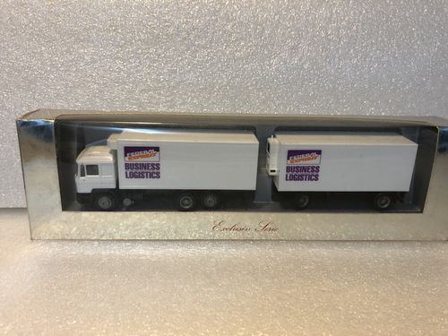 Herpa MAN F90 Kühlkofferlastzug Federal Express - Business Logistics Maßstab 1:87 HO in OVP